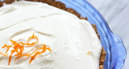 No-bake citrus cloud pie