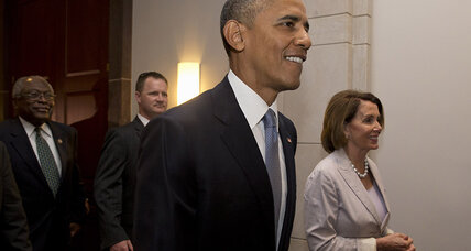 Obama pitches trade pact on Capitol Hill visit