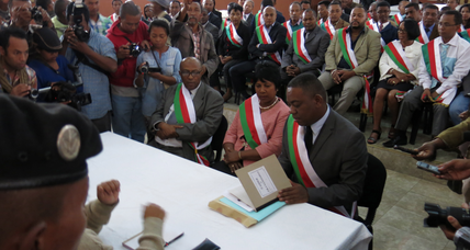 Madagascar court throws out impeachment of president