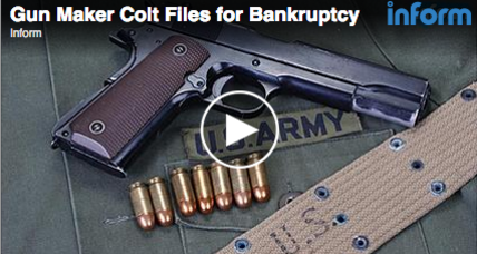 Colt firearms bankruptcy: Facing deep debt, gunmaker files for Chapter 11 (+video)