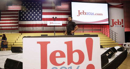'Jeb!' Bush: A new logo and the politics of punctuation (+video)