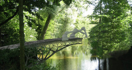 Amsterdam 3D-printed bridge: Would you drive over this bridge? (+video)