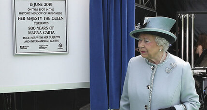 British royals commemorate Magna Carta's 800th anniversary