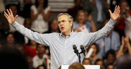 Jeb Bush launches presidential campaign 'with heart'