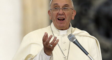 Pope: Wasteful consumption and fossil fuels driving climate change