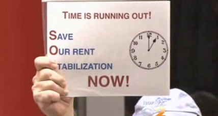 New York rent regulations for 2 million tenants to expire