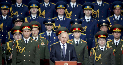 Putin: Russia will add more than 40 ballistic missiles to nuclear arsenal