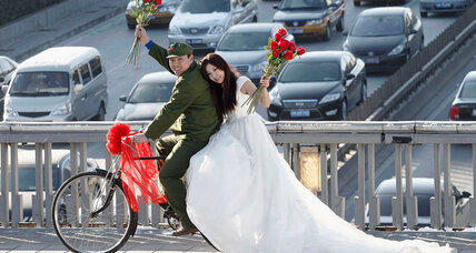 Are China's fuss-free weddings a sign of cultural modernity?