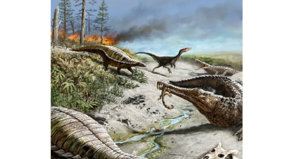Tropics were once so harsh that even giant dinos shied away, say scientists