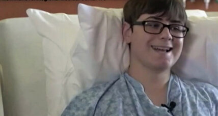 N.C. shark attack survivor lights up social media with positive outlook