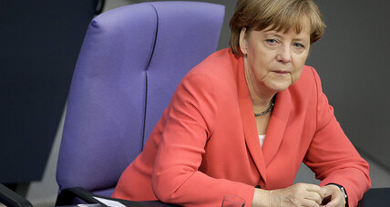 Save Greece or save the eurozone? Merkel edges toward a thorny choice.