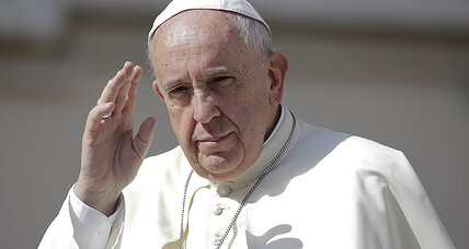 Pope Francis urges strong action on climate change