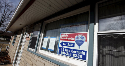 US foreclosures hit 19-month high, but there's a silver lining