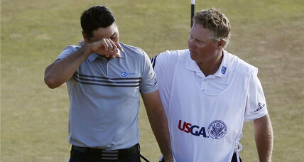 US Open: Epic effort from 'the heart of a lion' leads to 4-way tie
