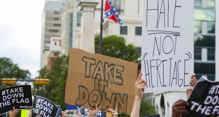 Charleston shooting reignites debate over Confederate flag (+video)