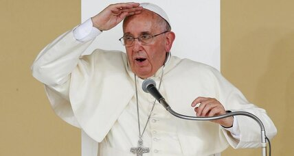 Pope Francis denounces 'great powers' for turning blind eye to genocide