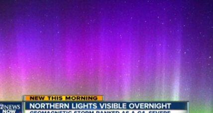 Solar storm brings spectacular aurora to parts of United States