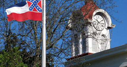 Mississippi flag's Confederate emblem: Next to go? (+video)