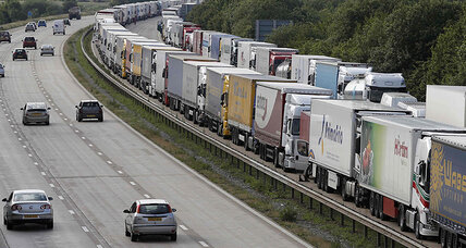 As port strike racks Calais, migrants use chaos to hop trucks to Britain