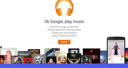 'Google Play' joins crowded music streaming market