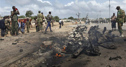 9 killed in bomb blast in the Somali capital