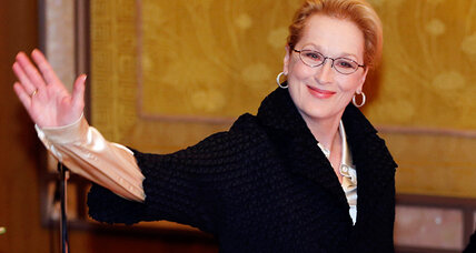 Meryl Streep takes crusade for women's rights to Capitol Hill