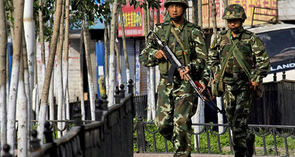 Deadly clash at police checkpoint in China's restless Xinjiang Province