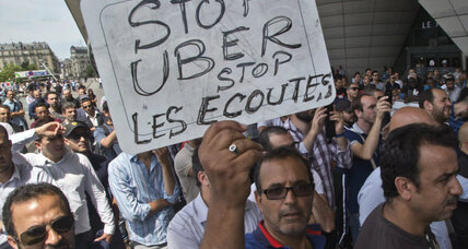 French cab drivers protest Uber: What Paris might learn from Peoria, Ill. (+video)