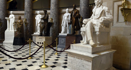 Do statues of Confederate leaders belong in US capitol?