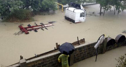 Floods hit Russia's Olympic city of Sochi