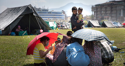 Nepal quake: As monsoon hits, foreign donors pledge $4.4 billion in aid (+video)