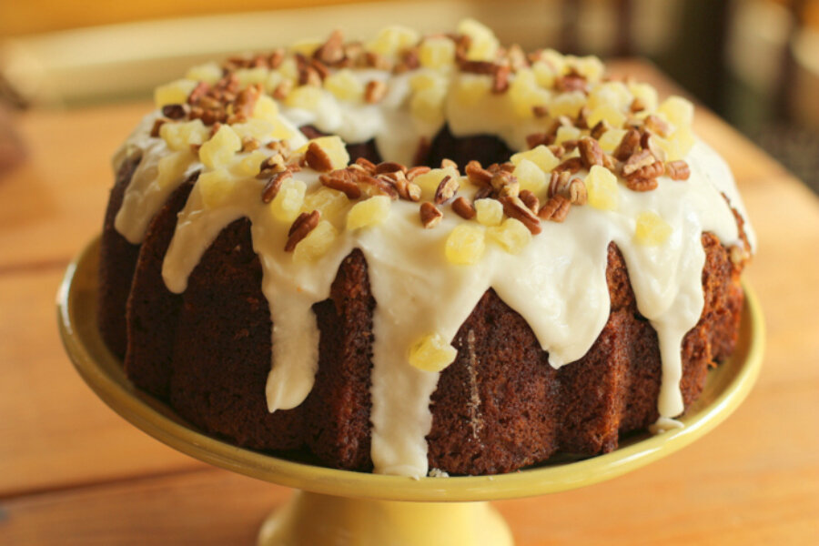 recipe: hummingbird cake in bundt pan [39]