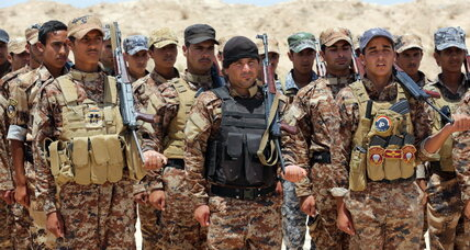 Friend or foe? US lines up with Shiite militias and former Sunni rebels in Iraq