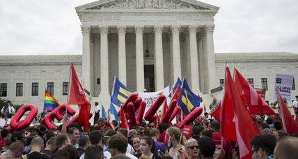 Supreme Court rules gay marriage law of the land