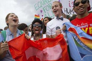 Same sex union rights in mi