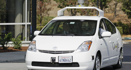 Two rival driverless cars almost collide in Silicon Valley