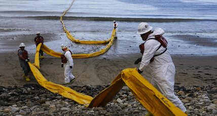 Exxon shuts down oil production as Santa Barbara cleans up spill