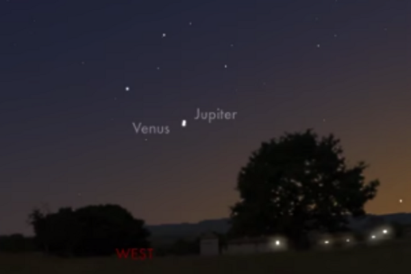 how to find jupiter in the night sky