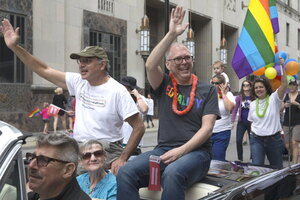 Same sex marriages were legal in polk county