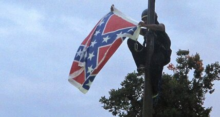 Activist on Confederate flag: 'All they have to do is keep it down'