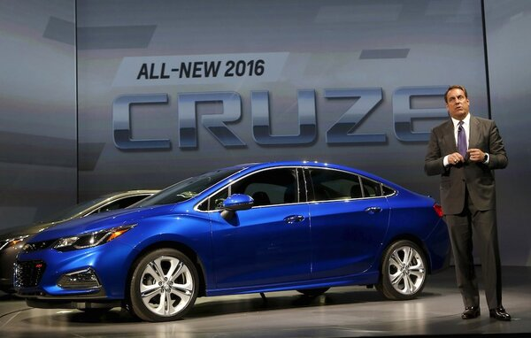 2016 Chevy Cruze will sell alongside older 'Cruze Limited' - CSMonitor ...