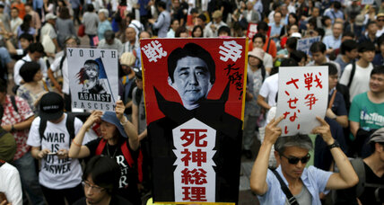 Japan's high-flying Shinzo Abe suddenly faces real headwinds