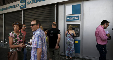 Amid crisis, Greeks seek something more than money: lost pride