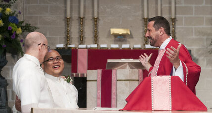 Same-sex couples rush to altar ahead of GOP stop-gap measures (+video)