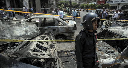With Cairo assassination, Egypt's cycle of violence turns darker (+video)