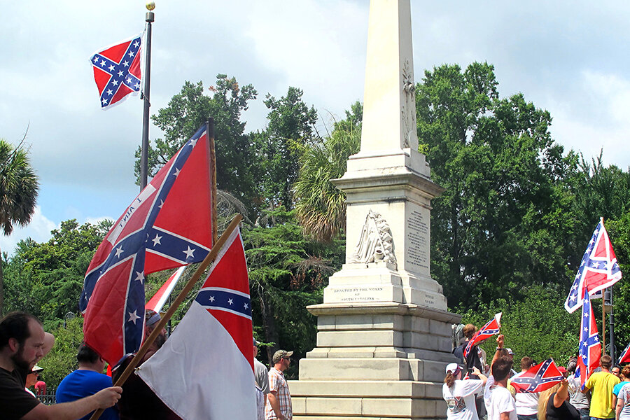 List of Confederate monuments and memorials in South Carolina