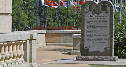 Oklahoma Ten Commandments monument ordered to be removed