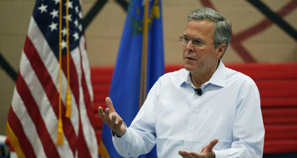 Is Jeb Bush's show of transparency working?