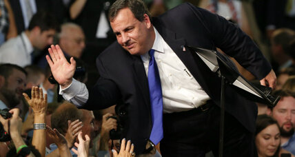 Nowhere to go but up? Chris Christie declares presidential bid (+video)