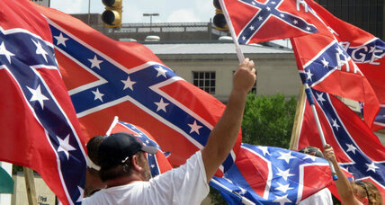 As South Carolina mulls furling flag, pro-Confederate protests grow (+video)